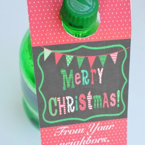 Printable Christmas Soda Tags – Neighbor Gift Blog Hop