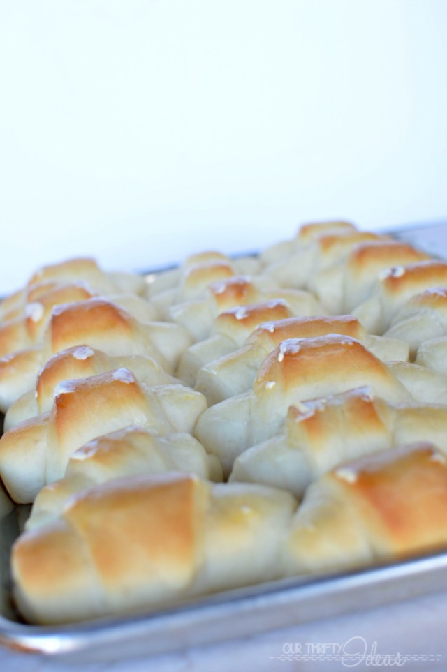 These are the most amazing rolls. Seriously so light and buttery