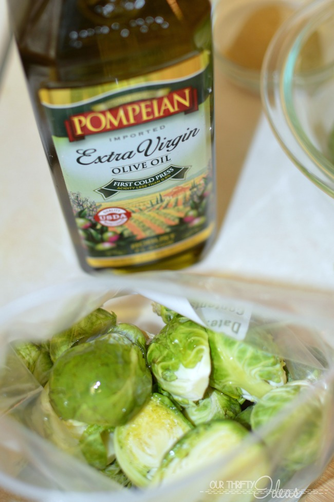 Roast your brussel sprouts for an amazing side dish that can serve a few or serve a crowd.