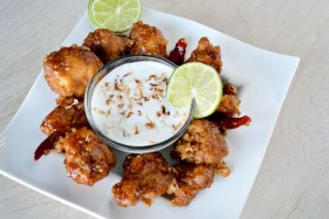 #Ad Coconut Lime Dipping Sauce – General Tso's Boneless Wings