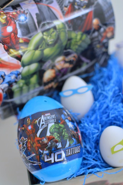 Superhero boys Easter Basket