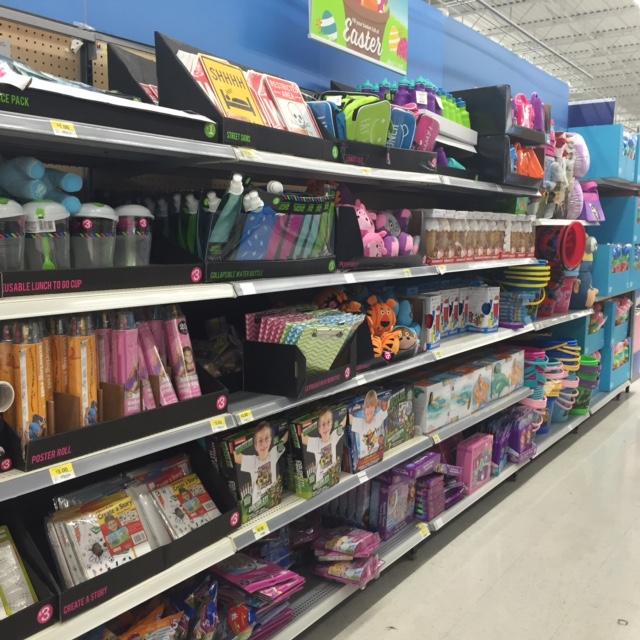Disney Easter supplies at Walmart