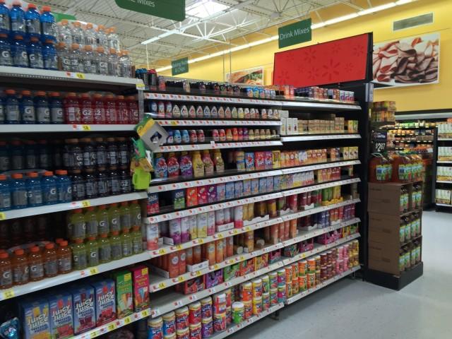 Kool-Aid Easy Mix at Walmart