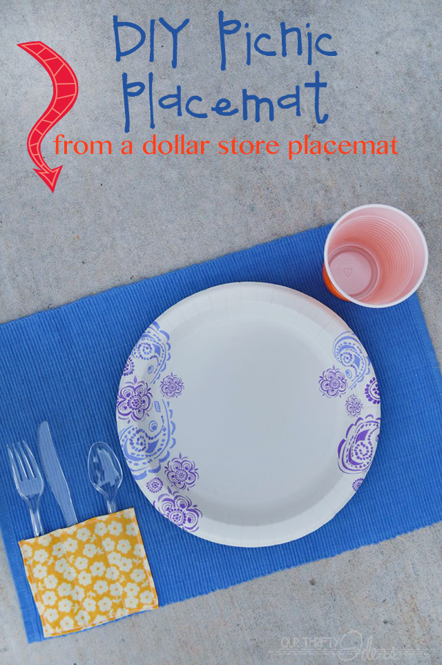 DIY Picnic Placemat Tutorial