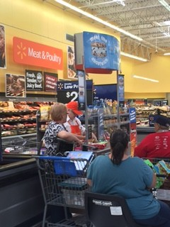 blue bunny demo at walmart