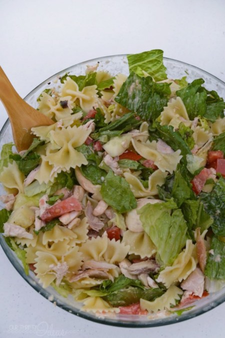 Chicken Pasta Salad - This is the best salad. It can be used as a side dish or even as a man entree.