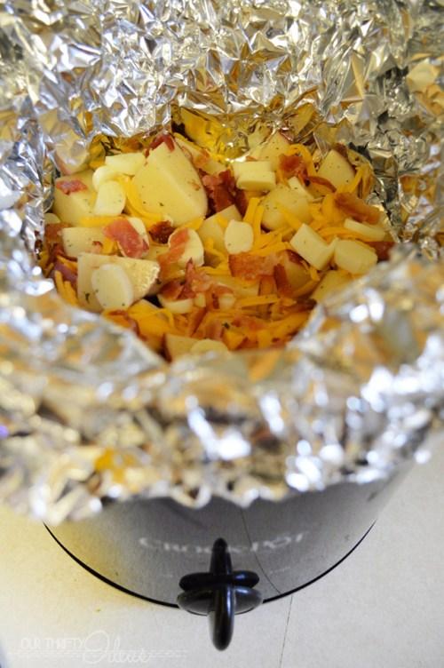 Cheesy Bacon & Ranch Potatos