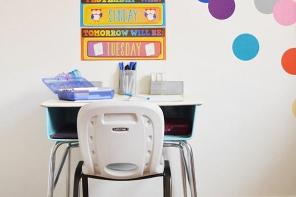 Kids Homework & Craft Desk