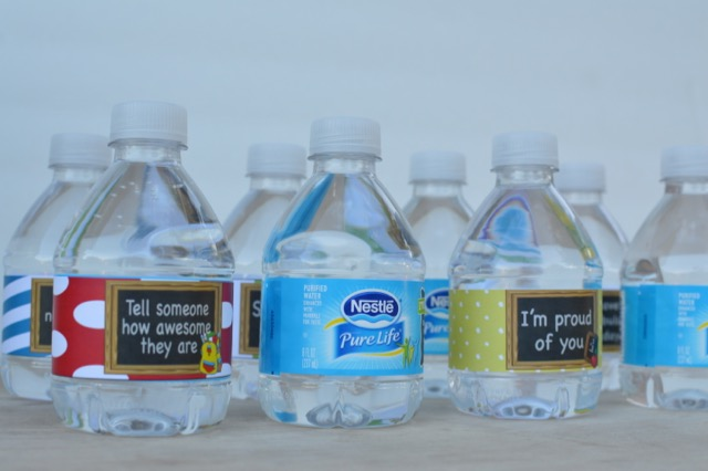 Back To School Water Bottle Labels Healthy Lunch Idea Our Thrifty Ideas