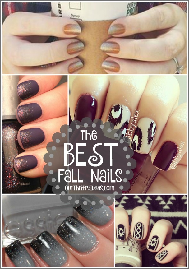 The Best Fall Nail Ideas