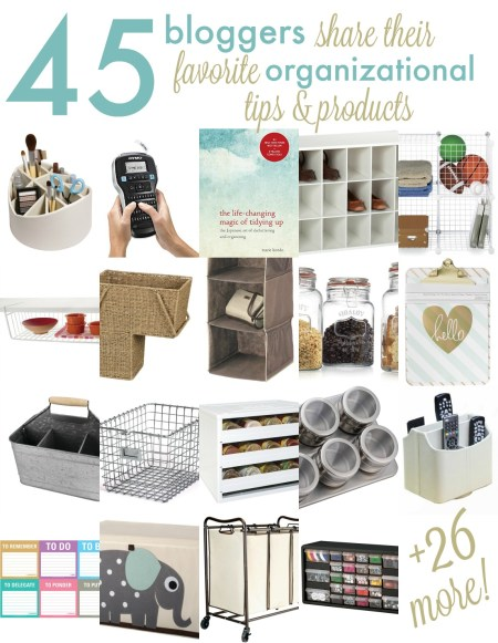 Organizational product collage