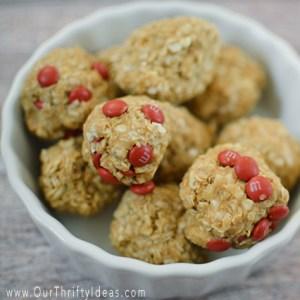 Peanut Butter Oat Bites Recipe