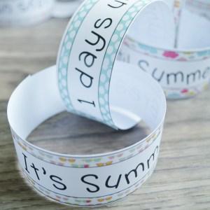 countdown chain for summer break