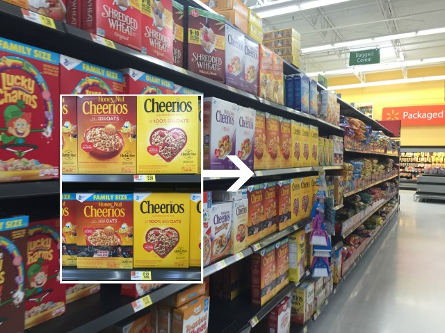 cheerios in walmart