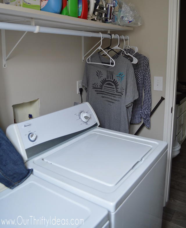 Spruce up your old laundry equipment with a little custom vinyl