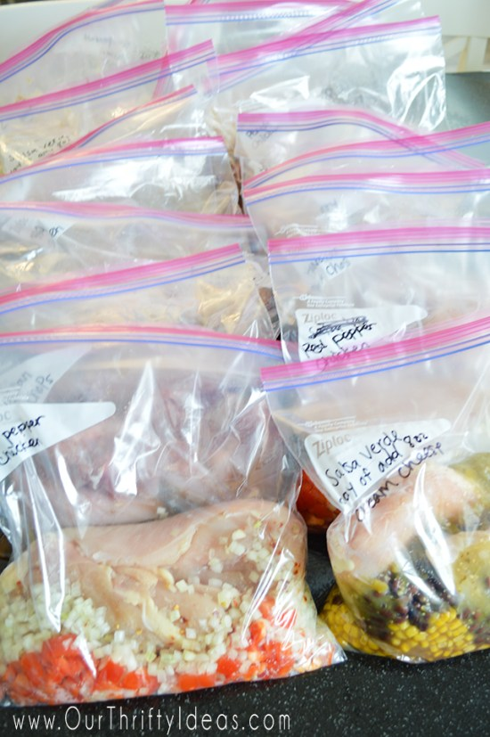 Meals that go from Freezer to Crockpot. They can cook in the crockpot on those busy days when you normally would go thru fast food and picking up something unhealthy & expensive for the family. They are just $5 per meal!!!