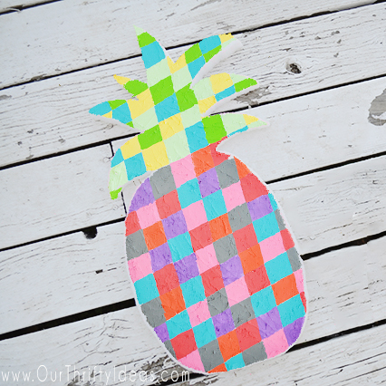 Geometric Pineapple – Craft Tutorial