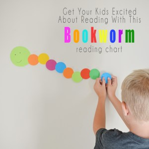 Bookworm Reading Chart – Track Your Child's Reading Progress