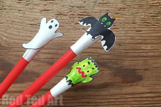 Halloween Straw Shooters