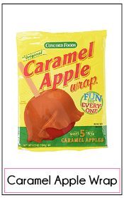 shop for caramel-apple-wrap