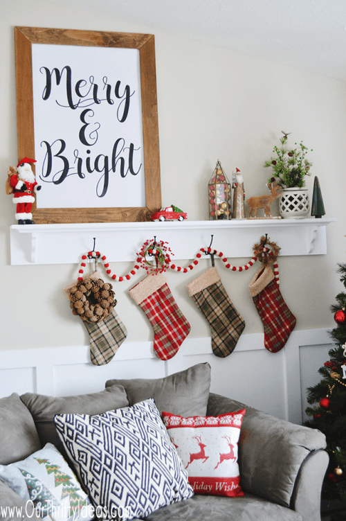 A free Christmas Print download that you can get printed HUGE for less than $5. Fun way to decorate for the Holidays