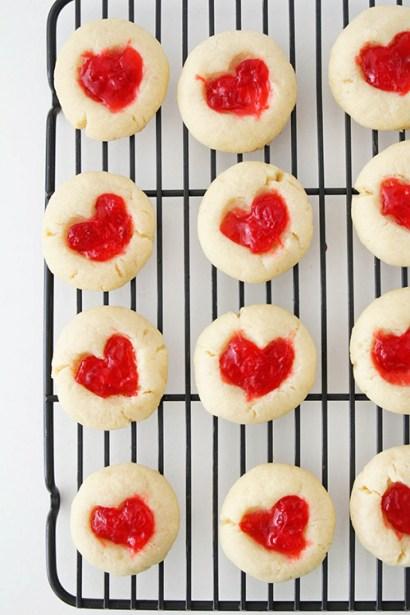 Gummy Bear Heart Shaped Cookies