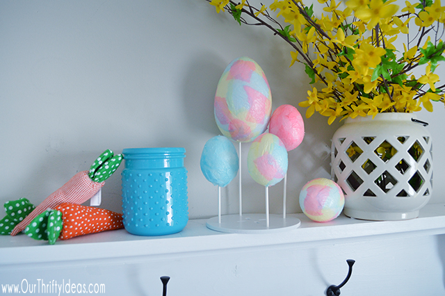 Decoupage Easter Egg Tutorial