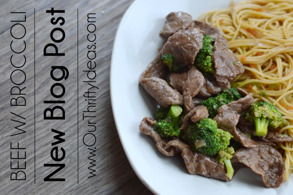 Homemade Beef with Broccoli
