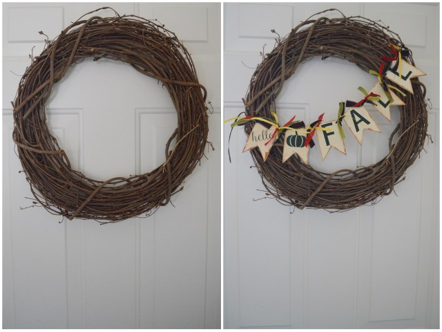 DIY Fall Wreath with Cricut Easy Press Mini