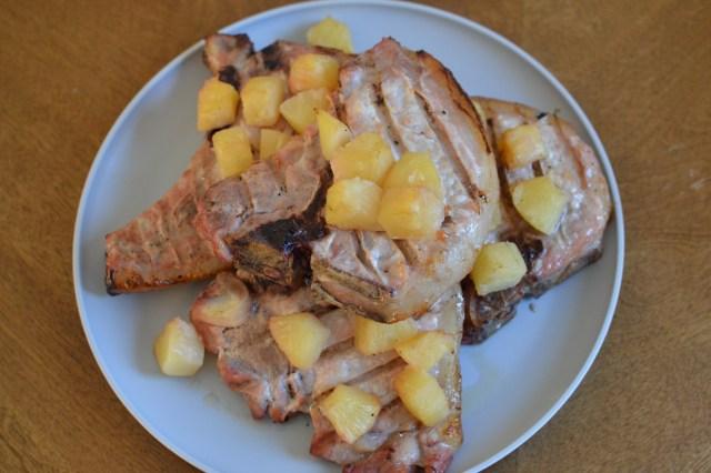 Hawaiian Style Pork Chops