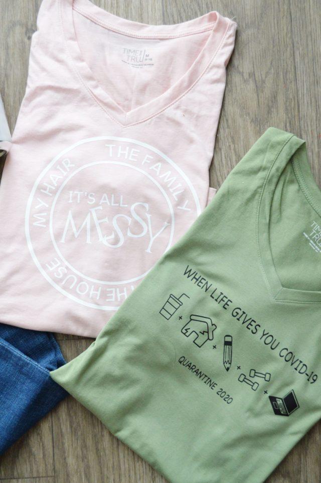 DIY Quarantine Shirts