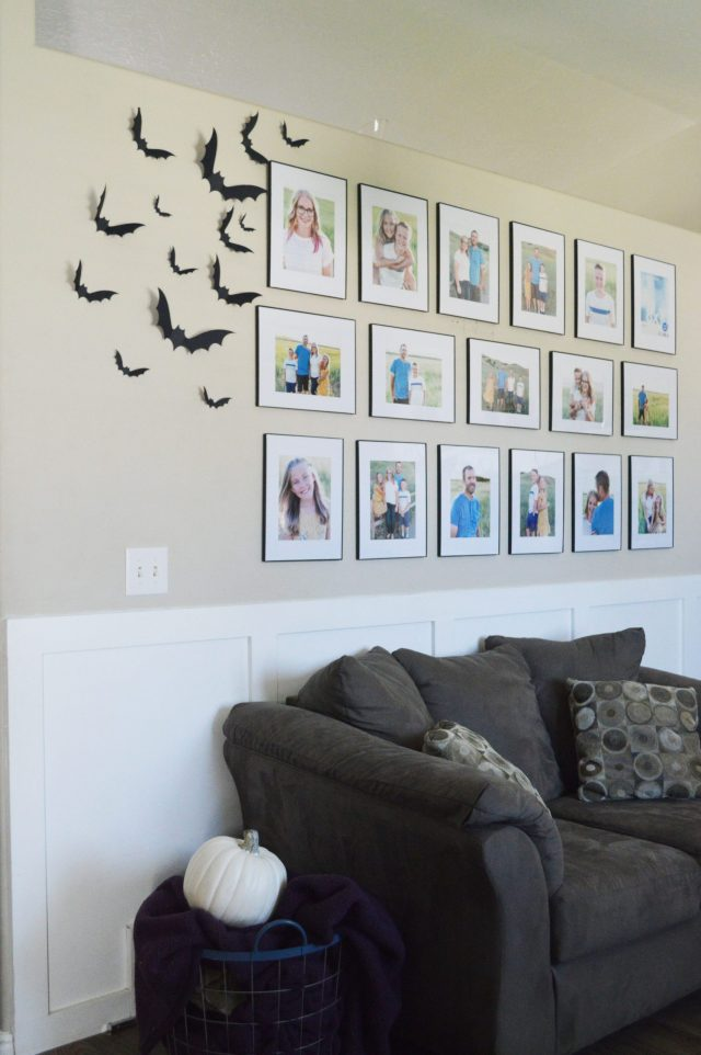 Paper Bats for Halloween Decor