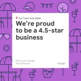 Google Rating - Social Post - Small Thanks