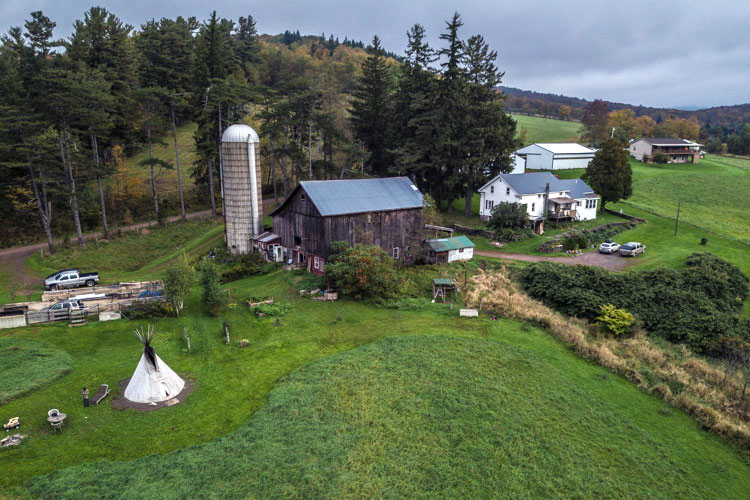 Weekend Trips from NYC: A Rustic Catskills Tipi - Our Travel