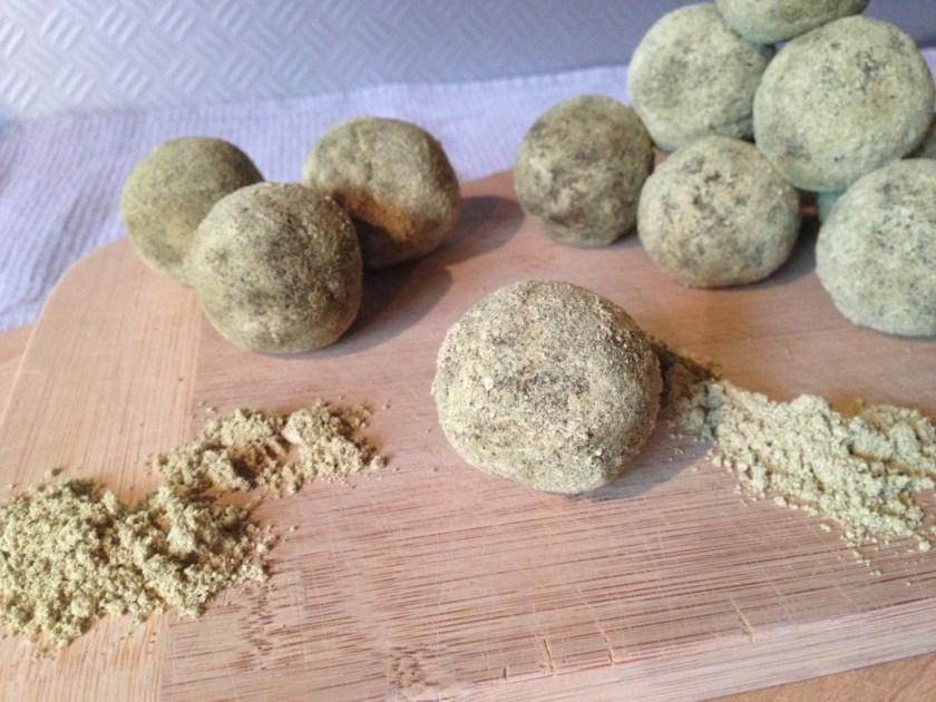 Chia Peanut Butter Protein Balls