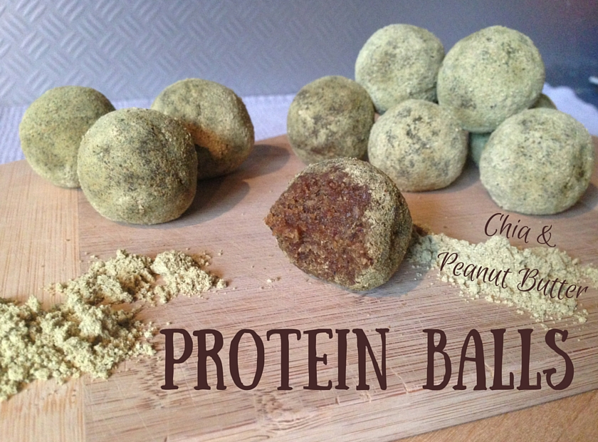 Chia Peanut Butter Protein Balls Our Vegan Revolution