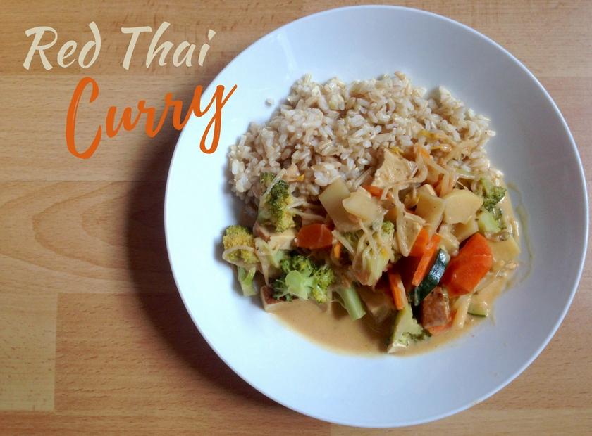 Red Vegan Thai Curry Our Vegan Revolution