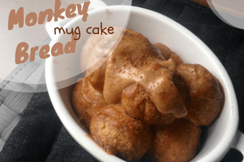 monkey bread mug cake