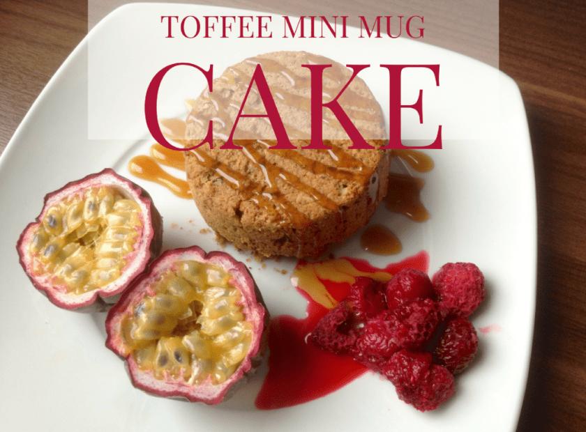 Toffee Mug Cake