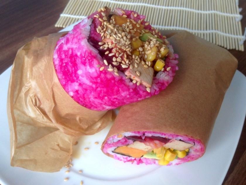 Vegan Sushi Burrito