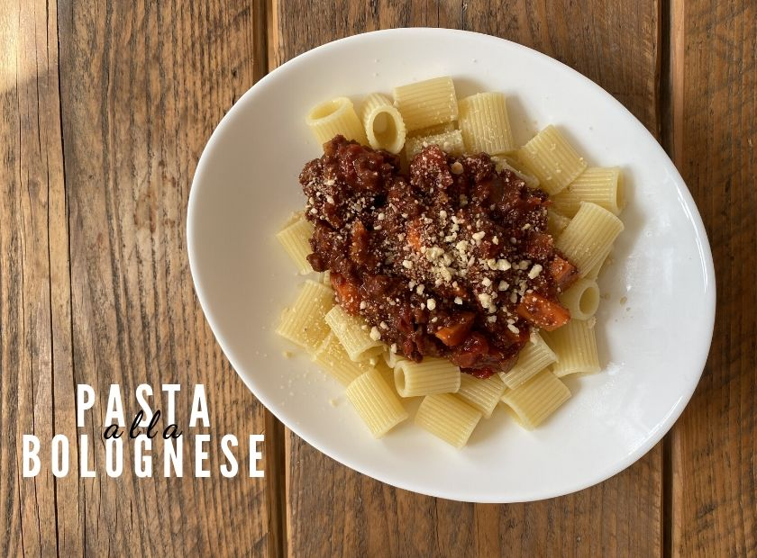 Vegan Pasta alla Bolognese