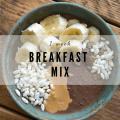 Vegan Breakfast Oatmeal Prep Mix