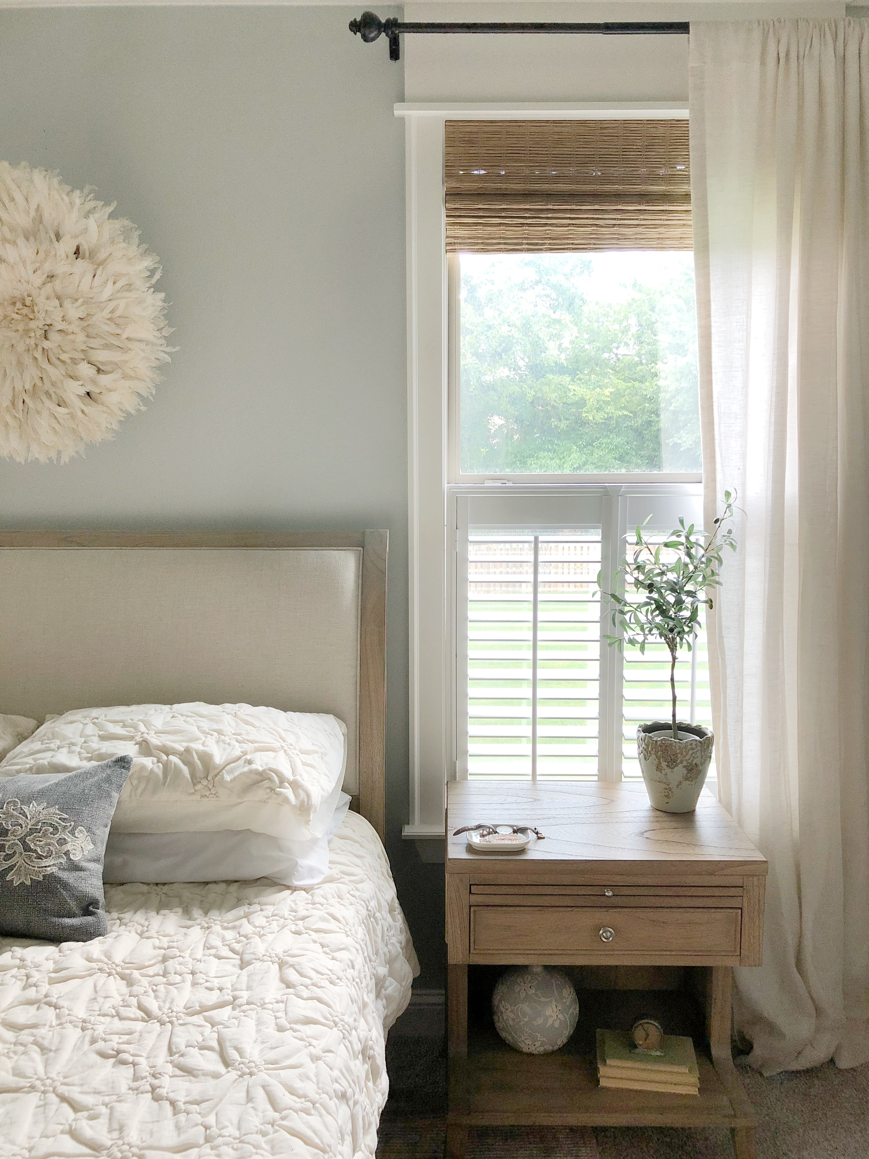 Enhancing Our Home With Cafe Shutters Our Vintage Nest