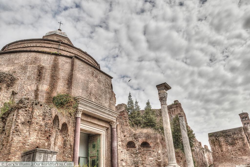 Santi Cosma e Damiano, Rome, Italy