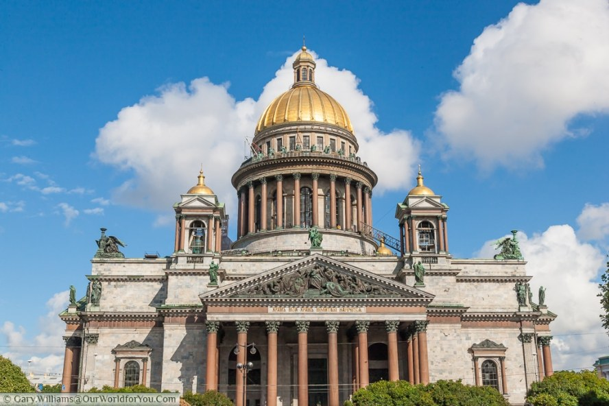 St Issac's Catherdral, St Petersburg, Russia