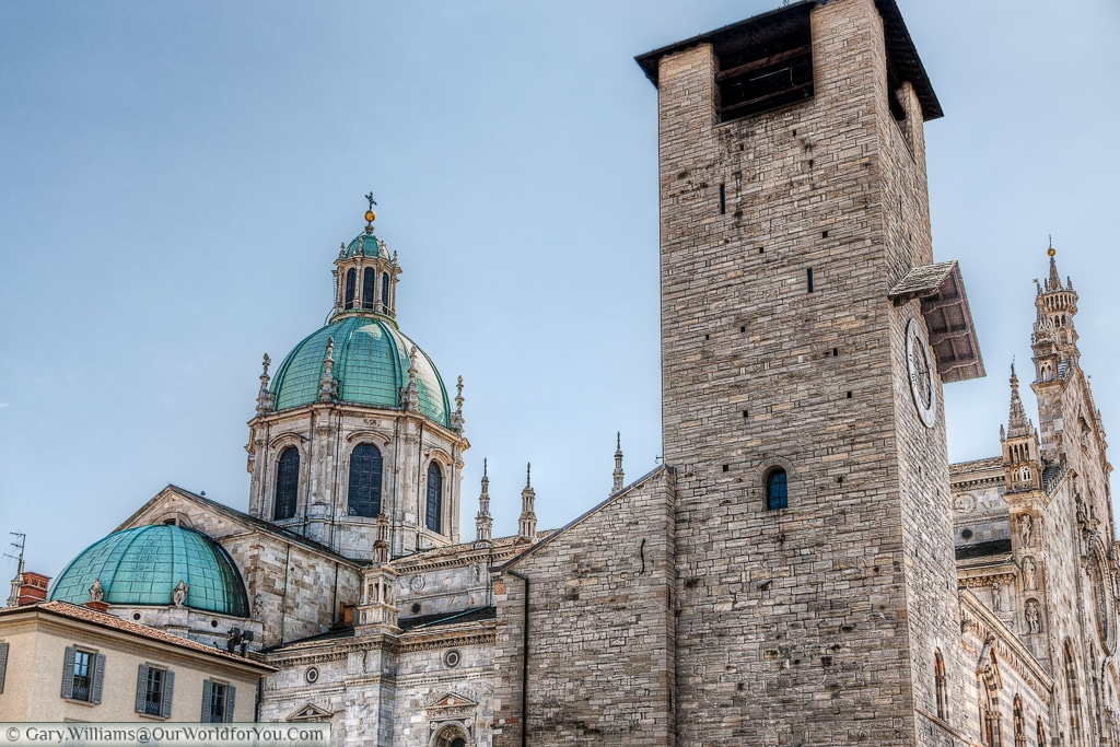 The Cattedrale di S. Maria Assunta, Como, Lake Como,, Lombardy, Italy