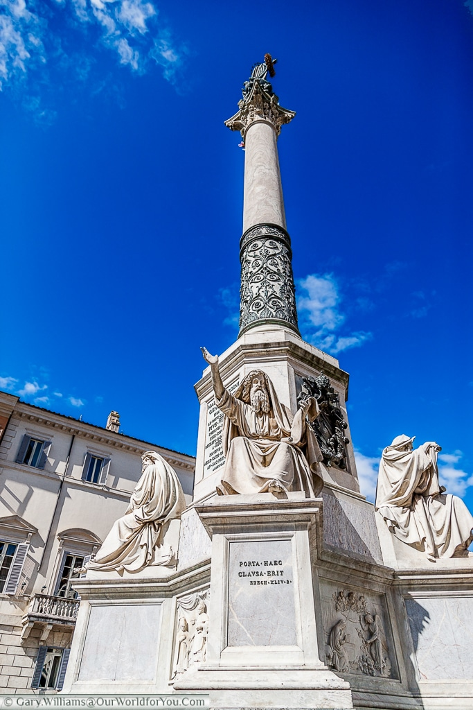 The Column of the Immaculate Conception, Rome, Italy