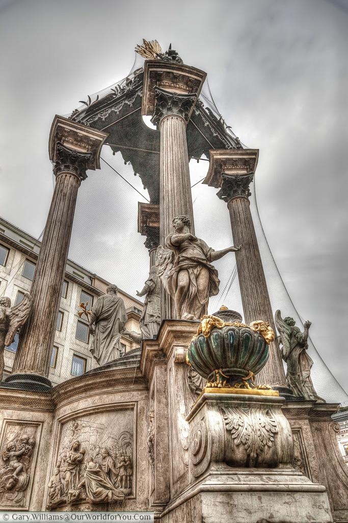 The Wedding Fountain or Vermählungsbrunnen, Vienna, Austria