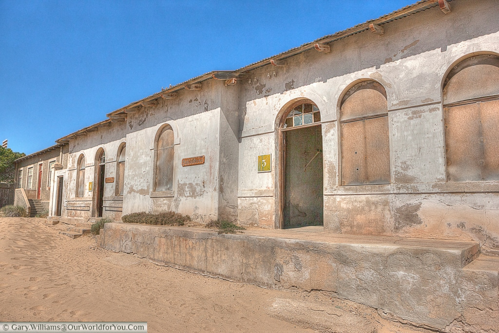 The butchery & ice factory, Kolmanskop, Namibia