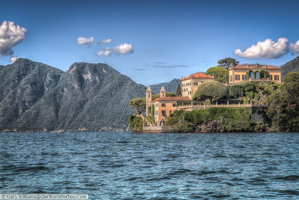 The fabulous Villa del Balbianello, Lake Como, Lombardy, Italy